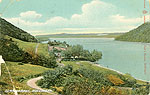 Westmeath - Mullingar - Derrvaragh (old colour Irish photo)