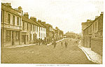 Westmeath - Mullingar - Dominick St (old b/w Irish photo)