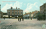 Westmeath - Mullingar - Market Square (old colour Irish photo)