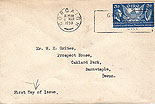 Ireland 1939 American Constitution Single Stamp FDC