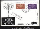 Ireland 1960 Fdc Cept Europa Illustrated Rare