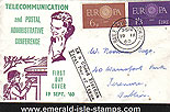 Ireland 1960 Fdc Cept Europa Illustrated (telecomms)