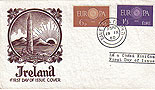 Ireland 1960 Europa Staehle FDC (First Day Cover)
