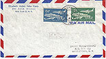 Ireland 1961 Aer Lingus FDC both stamps (Irish national airline)