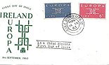 Ireland 1963 Fdc Europa CEPT illustrated