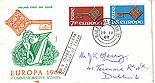 Ireland 1968 FDC Europa written address