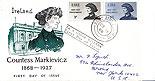 Ireland 1968 FDC Countess Markievicz Portrait