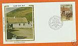 Ireland 1981 Fdc Land Law Act Silk Cachet (colorano)