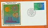 Ireland 1981 Fdc Royal Dublin Society Silk (colorano)