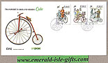 Ireland 1991 Fdc Early Irish Bicycles (an Post)