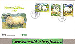 Ireland 1991 Fdc Irish Sheep First Day Cover (an Post)