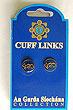 Irish Police Garda Cuff Links