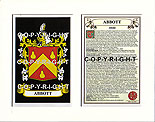 Abbott Family Crest and Name History