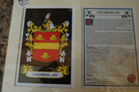 Chamberlain Family Crest and Name History