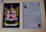 Kiernan Family Crest and Name History