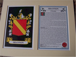 Shannon Family Crest and Name History