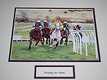 Turning For Home Horse Racing Picture