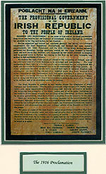 Easter Rising 1916 Proclamation