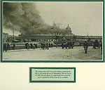 Ireland 1921 Customs House Ablaze
