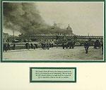 Ireland 1921 Customs House Ablaze (After Republican attack)