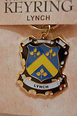 Lynch Keyring Keychain - Coat of Arms