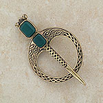 Tara Celtic Bronze Brooch
