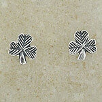 Plain Shamrock Earring