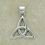 Classic Irish Celtic Trinity Pendant