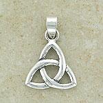 Celtic Trinity 3 Symbol Pendant (sterling silver)