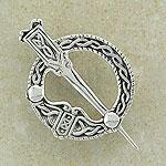 Superb Celtic Tara Silver Brooch (Based on the famous brooch)
