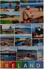 Irish Boats and Harbours Poster