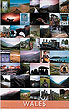 Wales Landscapes and People (Welsh Poster by Walter Pfeiffer)