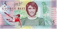 George Best �5 Northern Ireland Note