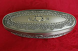 Irish Claddagh Mullingar Pewter (Jewelry Box)