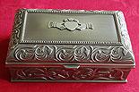 Irish Claddagh Jewelry Box by Mullingar Pewter (3 Sizes Available)