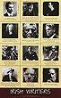 Famous Irish Writers Poster
