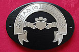 Claddagh Cead Mile F�ilte Wall Plaque (by Mullingar Pewter)
