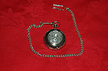 Byrne Coat of Arms Crest Pocket Watch