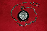 Maguire Coat of Arms Crest Pocket Watch