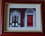Georgian Doors of Dublin Ireland (Irish Photo Print)