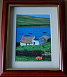 Traditional Thatched Cottage, Connemara, Galway, Ireland (Irish Photo Print)