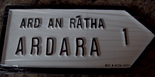 Ardara Old Style Road Sign