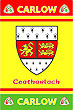Carlow GAA County Crest - Irish County Rug