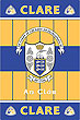 Clare GAA County Crest - Irish County Rug