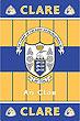 Clare GAA County Crest - Irish County Rug