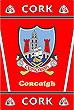 Cork GAA County Crest - Irish County Rug