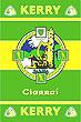 Kerry GAA County Crest - Irish County Rug