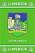Limerick GAA County Crest - Irish County Rug