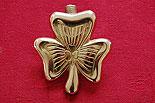 Irish Shamrock Brass Door Knocker