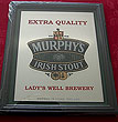 Murphys Irish Stout Beer Pub Mirror Sign